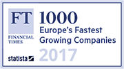 Financial Times, 1000 Europe's fastest growing companies 2017