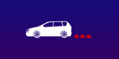 Animated car