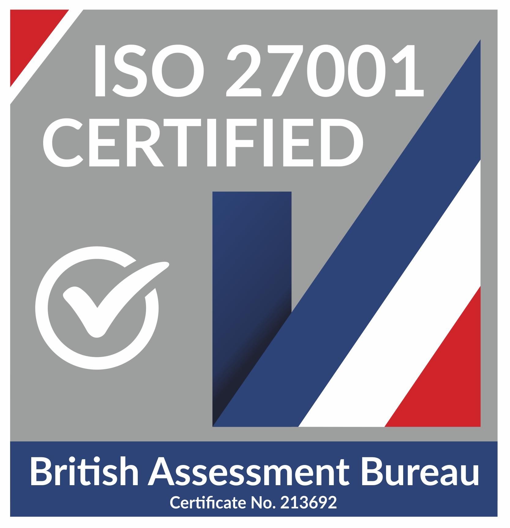 ISO accreditation badge