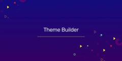 theme builder banner