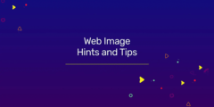 web image hints and tips banner