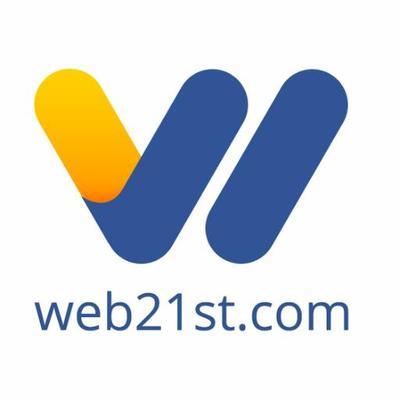 Web21st logo