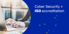 cyber security + ISO accreditation banner