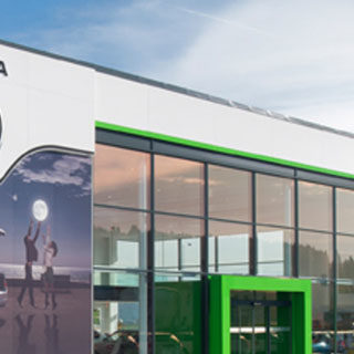 SKODA dealership photo