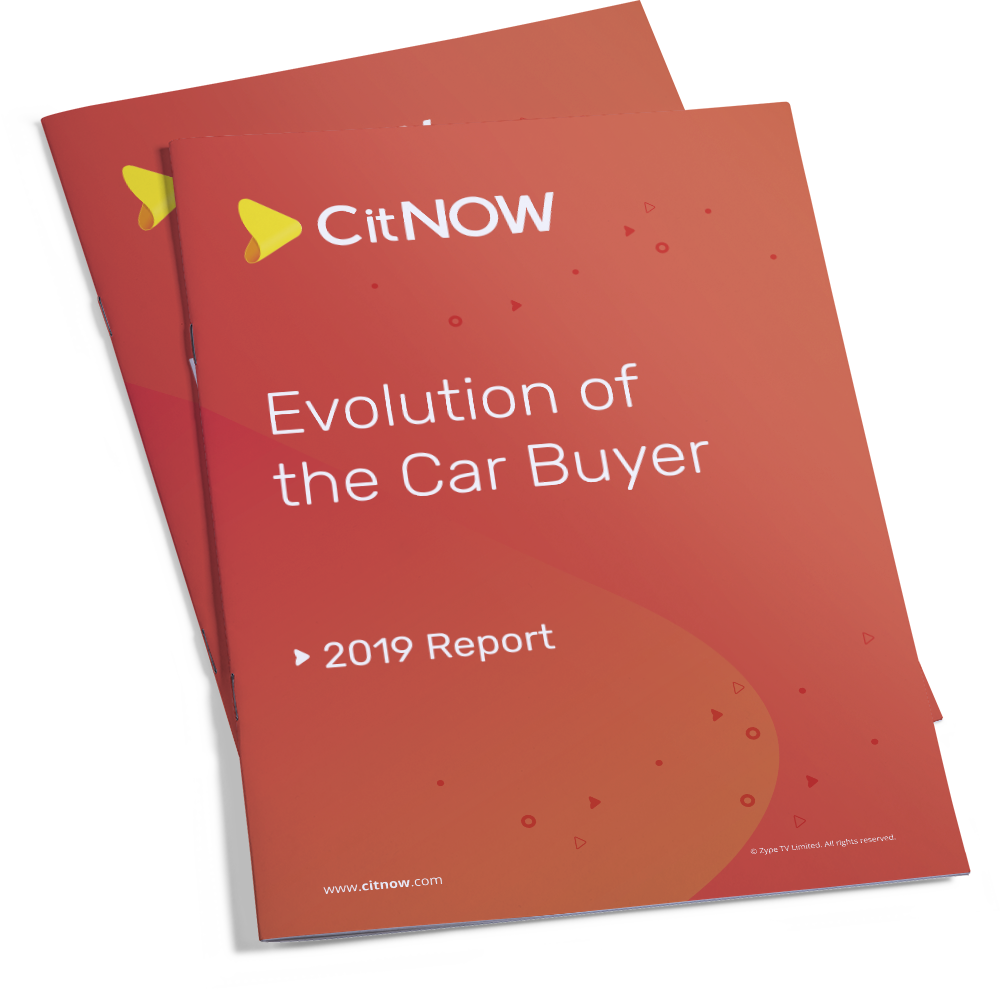 Front cover CitNOW Evolution of the Car Buyer Report 2019 Report