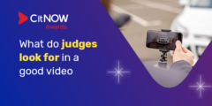 CitNOW Awards - what do judges look for in a good vide?