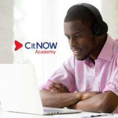 CitNOW Academy, Man participating in a webinar