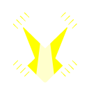 Digital Spotlight Logo in White and Yellow